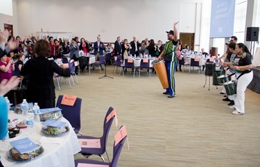 The Anti-Defamation League (ADL) New England Region 7th annual Nation of Immigrants Community Seder, held March 23, 2014 at the UMass Boston Campus Center. (Pilot photo/ Christopher S. Pineo )