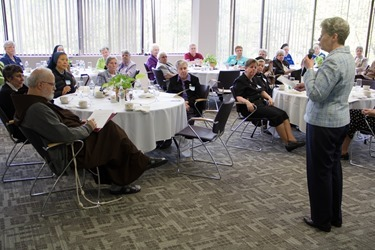 Meeting of major superiors of women's religious orders in the Archdiocese of Boston, May 14, 2014. Pilot photo/ Christopher S. Pineo
