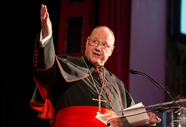 Cardinal Timothy Dolan, Archbishop of New York, and John Garvey, President of Catholic University, served as co-hosts for the 25th American Cardinals Dinner in New York City on Friday, May 30,at the Waldorf Astoria Hotel. Approximately $2.1 million was raised at the dinner, surpassing the previous record of $2 million that was raised at the 12th annual dinner held in in New York City in 2001.