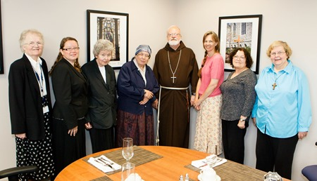 Mass and luncheon for consecrated virgins of the Archdiocese of Boston at the archdiocese's Pastoral Center, Aug. 13, 2014  Pilot photo/ Gregory L. Tracy