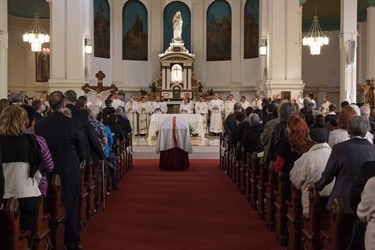Funeral mass for Msgr. Lorenzo Albacete