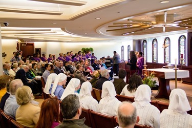 The 2014 Archdiocese of Boston Social Justice Convocation held Oct. 25, 2014 at the archdiocese's Pastoral Center in Braintree.<br /> Pilot photo/ Christopher S. Pineo<br />