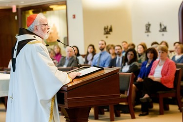 Archdiocese of Boston Lenten Day of Reflection for staff, March 25, 2015.