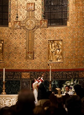 Ecumenical prayer service to mark the centennial of the Armenian genocide held at Trinity Church in Boston April 23, 2015.  Pilot photo/ Gregory L. Tracy