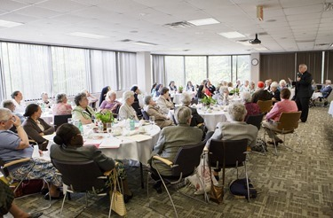 Meeting of Women Religious Superiors at the Pastoral Center May 13, 2015. Pilot photo/ Gregory L. Tracy