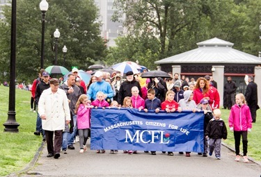 The Massachusetts March for Life, held Sunday June 28, 2015 on Boston Common. 