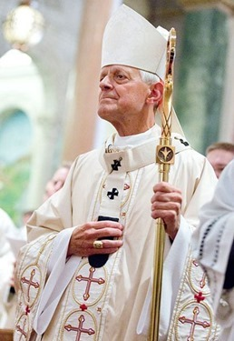 Cardinal Donald Wuerl celebrates the Funeral Mass for Cardinal William Wakefield Baum on July 31 at the Cathedral of St. Matthew the Apostle.