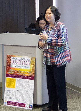 Archdiocesan Social Justice Convocation Oct. 24, 2015. Pilot photo/ Mark Labbe