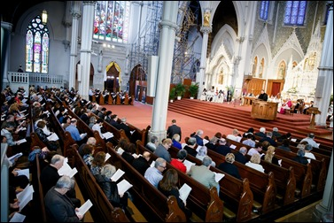 """An Ecumenical Commemoration of Holy Saints and Martyrs of the Armenian Genocide"", held at the Cathedral of the Holy Cross in Boston April 23, 2016. (Photo by Gregory L. Tracy, The Pilot)"