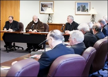 Meeting of bishops of the Boston Province, April 20, 2016.