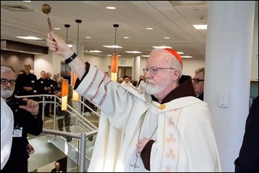Dedication of Pope St. John XXIII Learning Center, April 20, 2016. Pilot photo by Mark Labbe