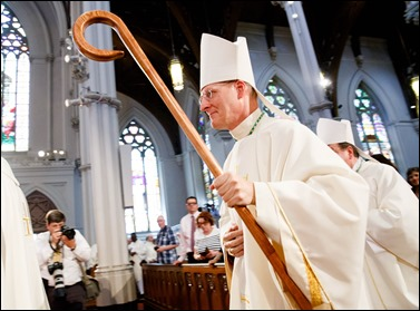 Episcopal ordination of Archbishop Paul Russell, Apostolic Nuncio to Turkey and Turkmenistan, June 3, 2016 at the Cathedral of the Holy Cross in Boston. Pilot photo by Gregory L. Tracy
