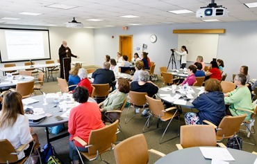 Faith formation leaders workshop June 1, 2016. Photo by Gregory L.Tracy