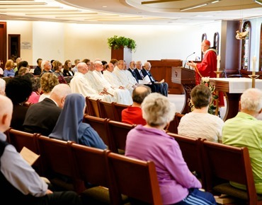 Mass for 25th jubilarian priests June 1, 2016. Photo by Gregory L. Tracy