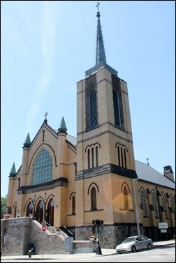 Sacred Heart Church in Roslindale