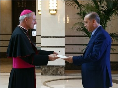 Archbishop Russell and Erdogan Aug 31, 2016