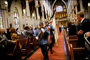 Mass for Public Safety Personnel and their Families celebrated by Cardinal Seán P. O'Malley at the Cathedral of the Holy Cross Oct. 9, 2016. Pilot photo/ Gregory L. Tracy