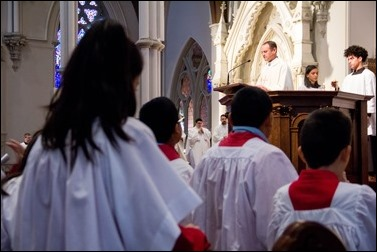 Altar Server Appreciation Mass celebrated at the Cathedral of the Holy Cross Oct. 29, 2016. Pilot photo/ Mark Labbe