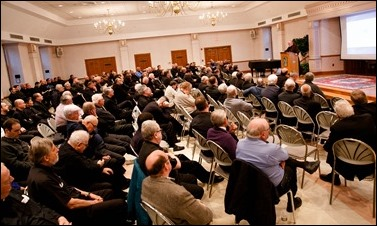 Convocation of priests of the Archdiocese of Boston, Nov. 29, 2016 at St. Julia Parish Center in Weston. Pilot photo/ Gregory L. Tracy