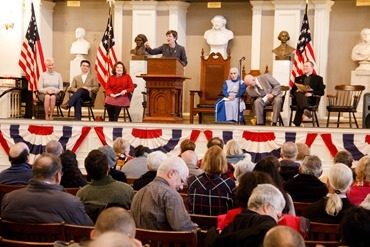 Massachusetts Citizens for Life's annual Assembly for Life, held at Faneuil Hall Boston, Jan. 22, 2017. Pilot photo/ Mark Labbe