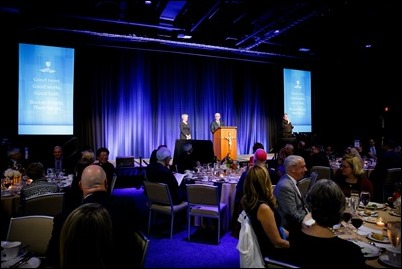 Archdiocese of Boston's 9th annual Celebration of the Priesthood Dinner featuring speaker Roma Downey held at the Seaport World Trade Center in Boston, Sept. 28, 2017. Pilot photo/ Gregory L. Tracy
