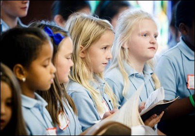 Mission Education Day sponsored by the Missionary Childhood Association in the Archdiocese of Boston's Pastoral Center, Oct. 11, 2017. Pilot photo/ Gregory L. Tracy