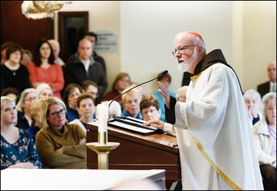 All Saints Day Mass at the Archdiocese of Boston's Pastoral Center Nov. 1, 2017. Pilot photo/ Gregory L. Tracy