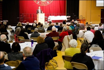 Archdiocese of Boston 2017 Social Justice Convocation, held Nov. 4, 2017 at Boston College High School. Pilot photo/ Mark Labbe
