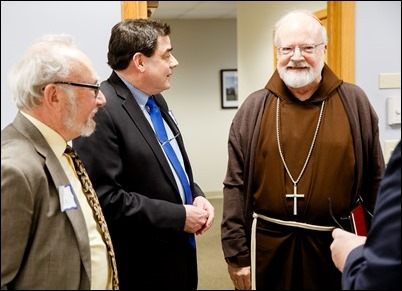 Environmental Conference hosted at the Archdiocese of Boston's Pastoral Center Feb. 8, 2018. Pilot photo/ Gregory L. Tracy
