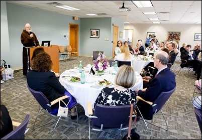 Archdiocese of Boston Excellence in Teaching Award luncheon, May 7, 2018 at the archdiocese's Pastoral Center in Braintree. Pilot photo/ Gregory L. Tracy