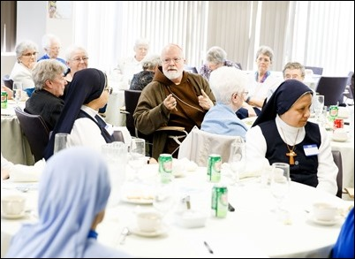Meeting with superiors of women's religious communities in the Archdiocese of Boston May 10, 2018. Pilot photo/ Gregory L. Tracy