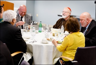Luncheon for members of the Permanent Deacon class of 2018 and their wives held at the Pastoral Center in Braintree, Aug. 30, 2018. Pilot photo/ Gregory L. Tracy