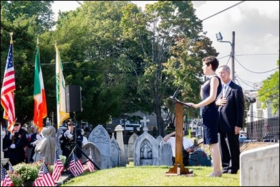 Bicentennial ceremony and Mass at St. Augustine Chapel and Cemetery in South Boston, Sept. 15, 2018. Pilot photo/ Jacqueline Tetrault