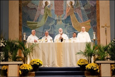 Deacon Jubillee Mass and Reception, Oct. 20, 2018. Pilot photo/ Mark Labbe