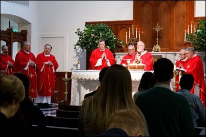Catholic Lawyers Guild of the Archdiocese of Boston's annual Red Mass and Luncheon, Oct. 25, 2018. Pilot photo/ Jacqueline Tetrault