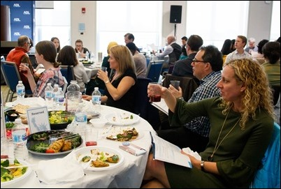 "Anti-Defamation League's 12th annual ""Nation of Immigrants"" Community Seder Seder, held on March 24, 2019 at the UMass Boston Campus Center. Pilot photo/ Jacqueline Tetrault"