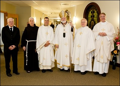 Mass for jubliarian priests and brothers, June 5, 2019. Pilot photo/ Gregory L. Tracy